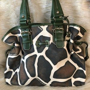 Dooney and Bourke animal print handbag